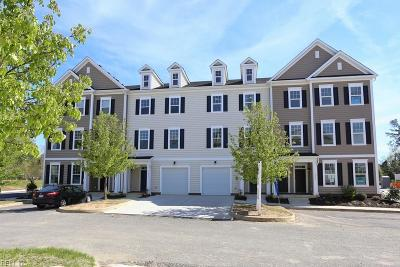 Williamsburg Single Family Home Under Contract: 1107 Prosperity Ct #64
