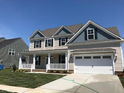 Chesapeake Single Family Home Under Contract: 1720 Travertine Way