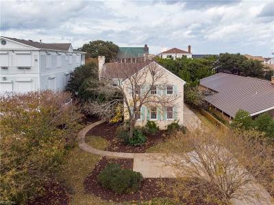 Virginia Beach Single Family Home New Listing: 105 48th St