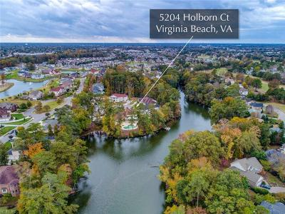 Virginia Beach Single Family Home New Listing: 5204 Holborn Ct