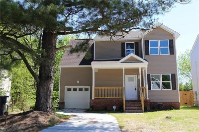 Portsmouth Single Family Home For Sale: 1315 Maple Ave