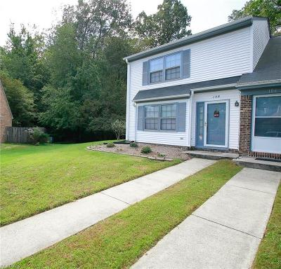 Yorktown Single Family Home New Listing: 108 Briarwood Pl