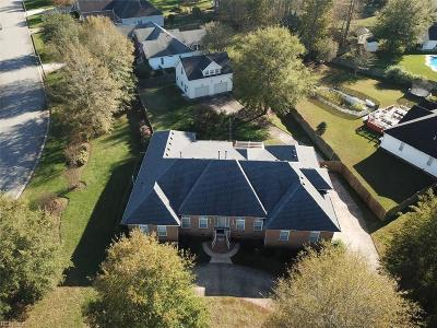 Chesapeake Single Family Home New Listing: 801 Bryson Arch