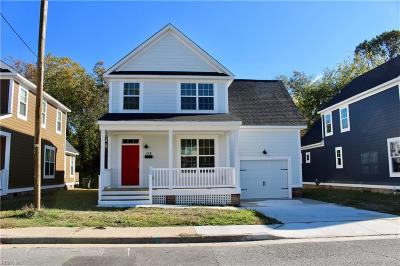 Hampton Single Family Home For Sale: 112 Patterson Ave