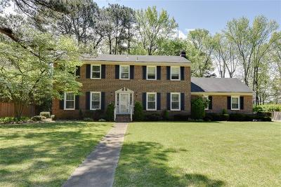 Chesapeake Single Family Home New Listing: 4309 Greenleaf Dr