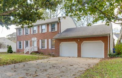Newport News Single Family Home New Listing: 83 Springdale Dr
