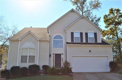 Newport News Single Family Home New Listing: 320 Dunnavant Ln