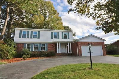 Virginia Beach Single Family Home New Listing: 924 Lovell Dr