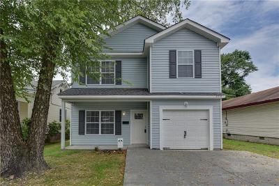 Virginia Beach Single Family Home New Listing: 1565 Frost Rd