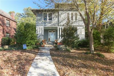 Norfolk Single Family Home New Listing: 4806 Mayflower Rd