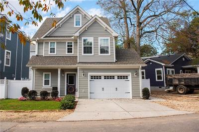 Virginia Beach Single Family Home New Listing: 2505 Chubb Lake Ave