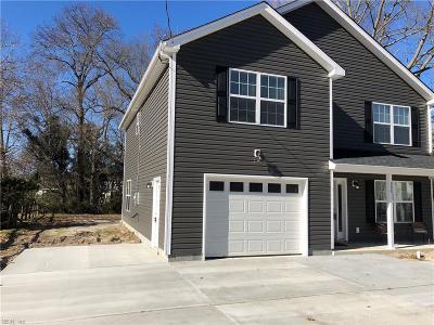 Chesapeake Single Family Home New Listing: 336 George Washington Hwy N