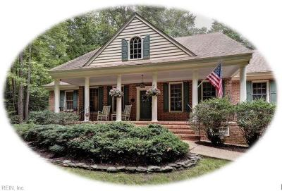 Williamsburg Single Family Home New Listing: 316 Dogleg Dr