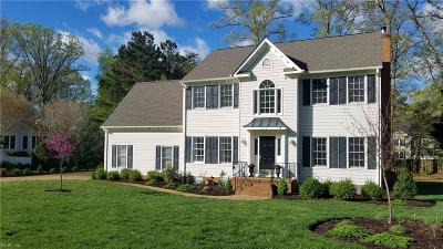Williamsburg Single Family Home New Listing: 163 Lakewood Dr