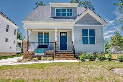 Newport News Single Family Home New Listing: 1435 Waltham Ln
