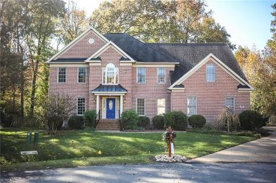 Yorktown Single Family Home New Listing: 104 Nandua Rn