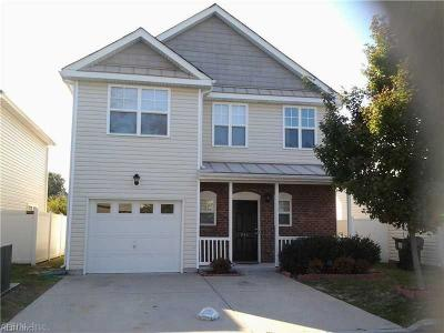 Virginia Beach Single Family Home New Listing: 841 Gem Ct