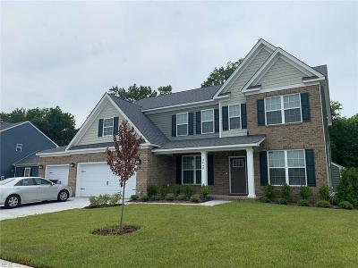 Chesapeake Single Family Home Under Contract: 3645 Kathys Way