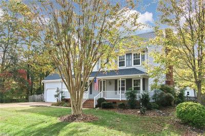 Yorktown Single Family Home New Listing: 200 Chaptico Rn