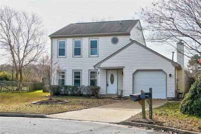 Virginia Beach Single Family Home New Listing: 1125 Cardston Ct