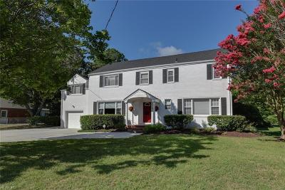 Virginia Beach Single Family Home For Sale: 2421 Indian Hill Rd