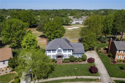 Virginia Beach Single Family Home Under Contract: 1221 Course View Cir