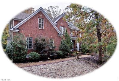 Williamsburg Single Family Home New Listing: 204 Skimino Landing Dr