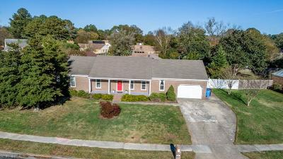 Chesapeake Single Family Home New Listing: 1337 Fordyce Dr