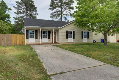 Newport News Single Family Home New Listing: 851 Shields Rd