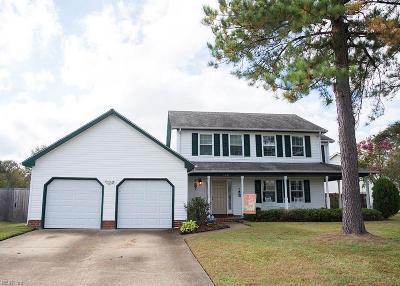 Virginia Beach VA Single Family Home New Listing: $360,000