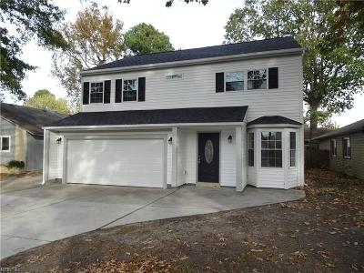 Virginia Beach Single Family Home New Listing: 592 Grant Ave