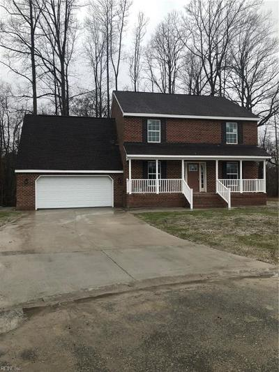 Suffolk Single Family Home New Listing: 2001 Hickorywood Dr