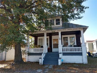 Portsmouth Single Family Home New Listing: 604 Jamestown Ave