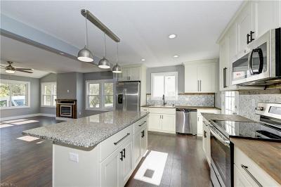 Norfolk Single Family Home New Listing: 2709 Dunkirk Ave