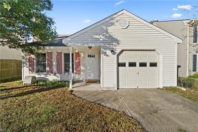 Virginia Beach Single Family Home New Listing: 4829 Halwell Dr