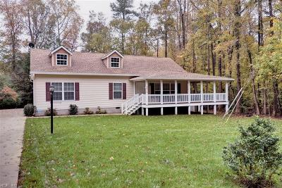 Williamsburg Single Family Home New Listing: 5015 John Tyler Hwy