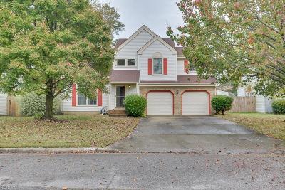 Virginia Beach Single Family Home New Listing: 1004 Creekview Ridge Ct