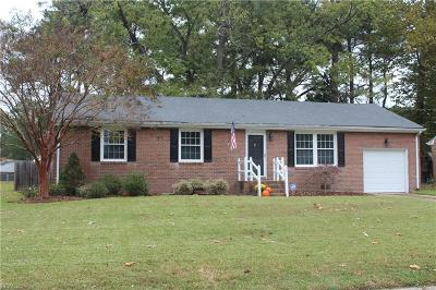 Portsmouth Single Family Home New Listing: 3700 Shannon Rd