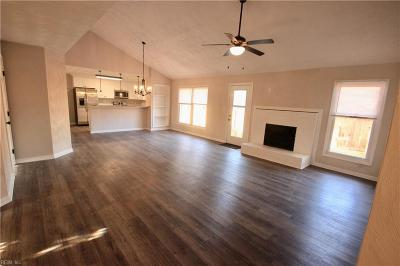 Virginia Beach Single Family Home New Listing: 2824 Shiflett Ct