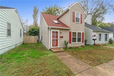 Newport News Single Family Home New Listing: 30-A Whittier Ave