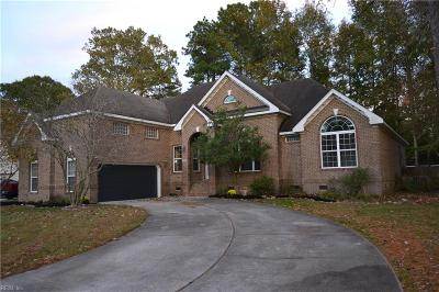 Chesapeake Single Family Home New Listing: 1717 Clearwater Ln