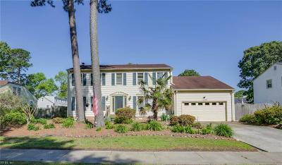 Virginia Beach Single Family Home New Listing: 1709 Macgregory St