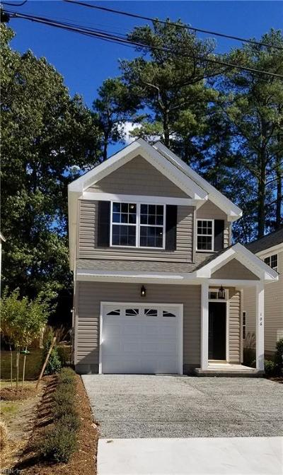 Virginia Beach Single Family Home Under Contract: 108 S Boggs Ave