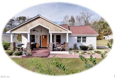 Williamsburg Single Family Home Under Contract: 4924 Hickory Signpost Rd