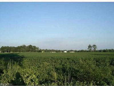 Suffolk Residential Lots & Land New Listing: 102 Ac Gates Rd