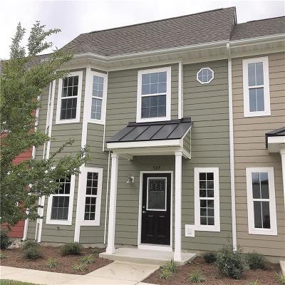 Chesapeake Single Family Home New Listing: 523 Reunion St