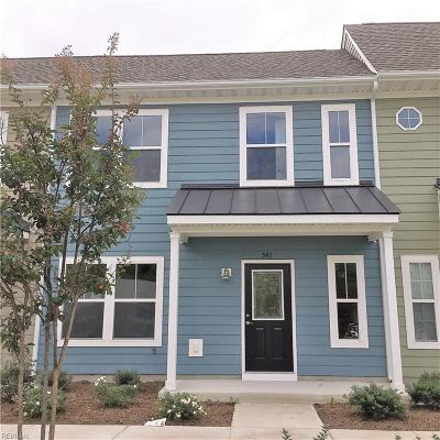 Chesapeake Single Family Home New Listing: 541 Reunion St