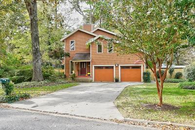 Virginia Beach Single Family Home New Listing: 750 Sheraton Dr