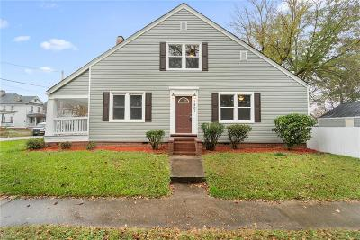 Chesapeake Single Family Home New Listing: 1401 Rodgers St