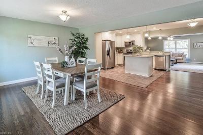 Portsmouth Single Family Home For Sale: 5616 Bingham Dr